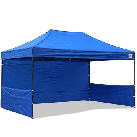 10 x 15 canopy abccanopy 10x15 deluxe royal blue pop up canopy trade show