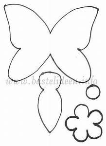 Schmetterlinge Basteln Zum Aufhängen : schmetterling und blume vorlage 500 bastelideen f r ~ Watch28wear.com Haus und Dekorationen