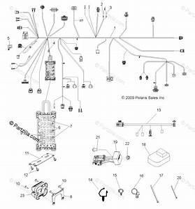 Polaris Side By Side 2010 Oem Parts Diagram For Electrical