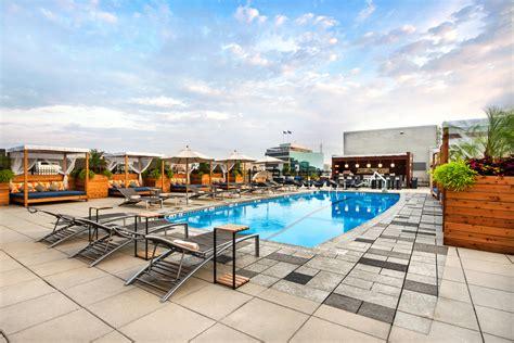 washington dc hotels  rooftop pools  liaison