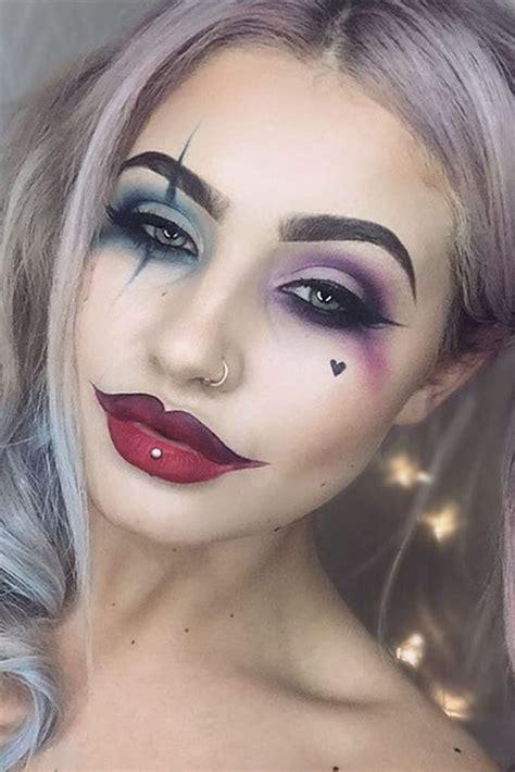 creepy  creative halloween makeup ideas  girlshue