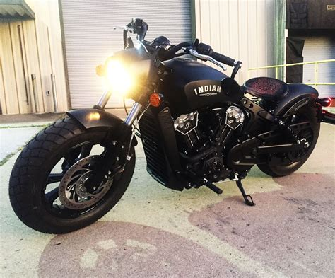 Gambar Motor Indian Scout by Pic Of S Awesome New 2018 Indian Scout Bobber The