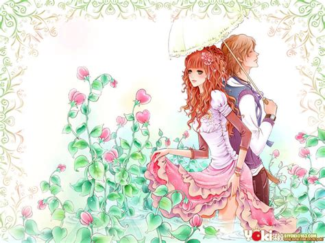 Free Cute Cartoon Couple Wallpapers For Mobile Download