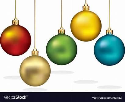 Ornaments Hanging Christmas Gold Vector Thread Ornament