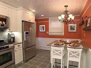 Eat-in Kitchen Ideas from Kitchen Impossible DIY Kitchen