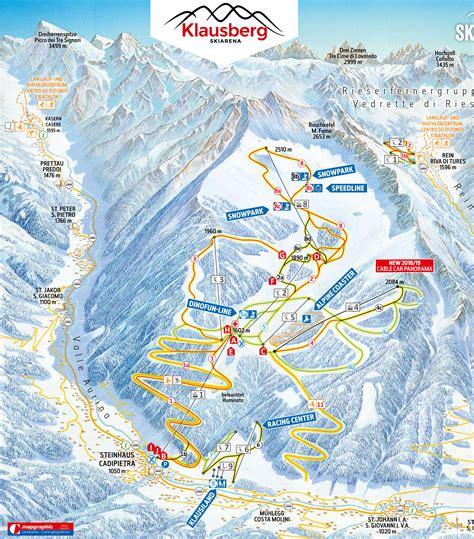 pistenplan klausberg skiworld ahrntal offene lifte
