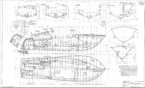 Riva Wooden Boat Plans by Classic Wooden Boat Plans 187 Sheet Plan 1