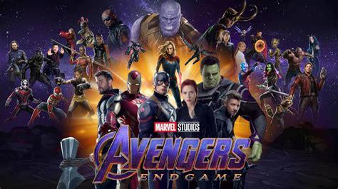 avengers endgame desktop wallpaper hd  joshuapenalba