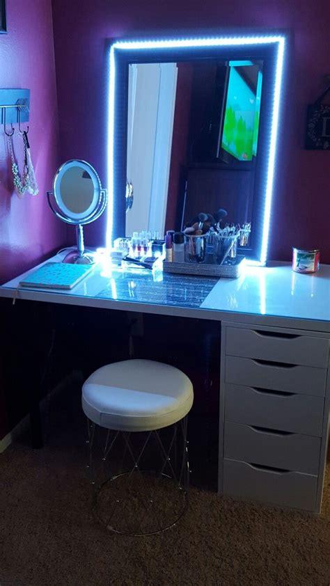 Led Lights Make Room by D I Y Led Lights For Vanity Mirror Make Up Room