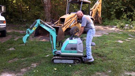 kobelco mini micro excavator ss