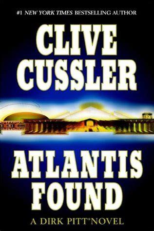 atlantis  dirk pitt   clive cussler reviews