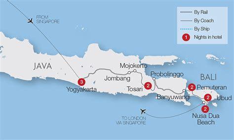 indonesian islands  java bali great rail journeys