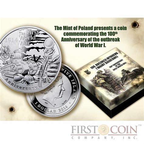 niue 100th anniversary of the outbreak of world war i 1 latent 2014 proof