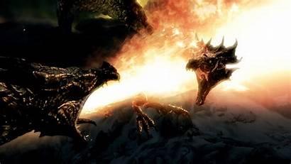 Skyrim Dragons Lore Dragon Fighting Elder Scrolls