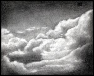 draw realistic clouds draw clouds step  step