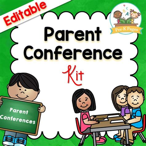 parent conference system pre k pages 564 | parent conference square cover