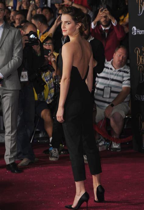 The Front Back Had Sexy Cut Emma Watson Wearing