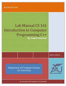 Lab Manual Of C