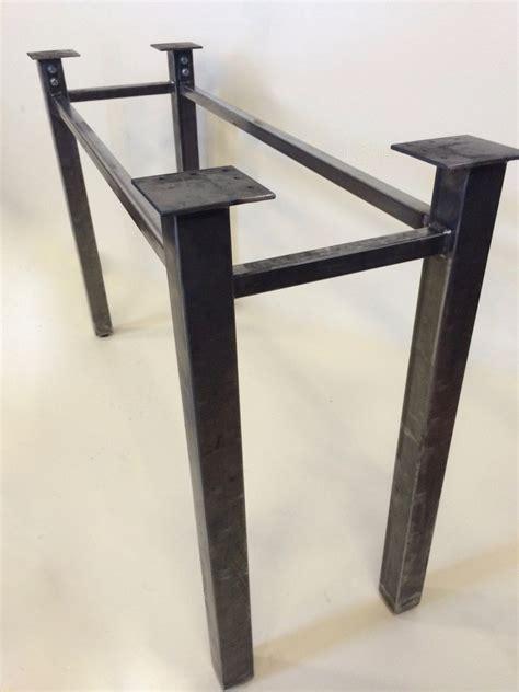 kitchen table bases metal metal table legs handmade table base steel table legs