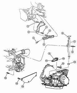 1999 Plymouth Grand Voyager Transaxle Mounting And Misc  Parts