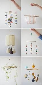Mobile Baby Diy : diy embroidery hoop baby mobile think make share ~ Buech-reservation.com Haus und Dekorationen