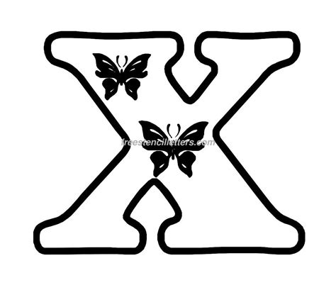 letter stencils to print butterfly stencil letters archives free stencil letters 9019