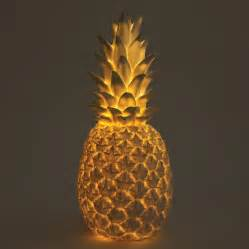 Pineapple Lights by Goodnight Light Pineapple Led L White Min 2