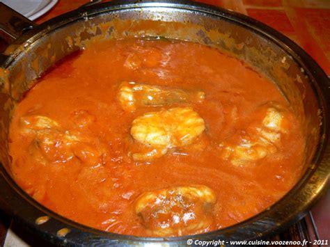 lotte al armoricaine recette cuisine lotte à l 39 armoricaine allégée une cuisine pour voozenoo