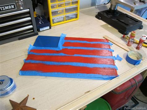 iron star rustic american flag petticoat junktion
