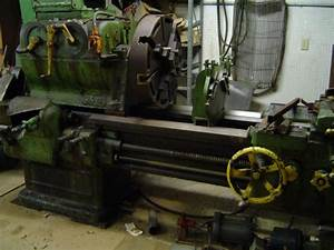 Old American Tool Works 20 X 36 Lathe For Farm Shop