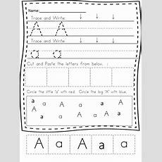Preschool Handwriting Worksheets  Free Practice Pages