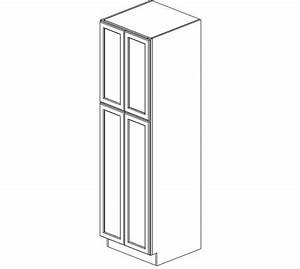 wp2484b ice white shaker wall pantry cabinet tall With kitchen colors with white cabinets with aclu bumper sticker