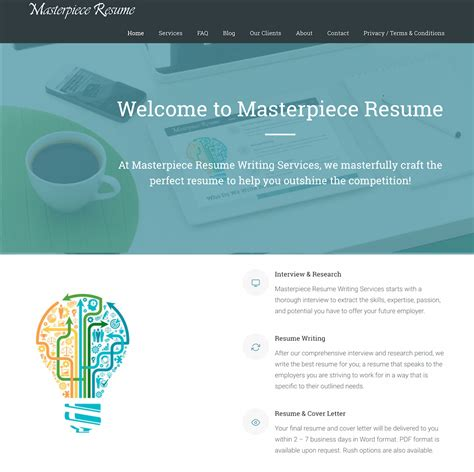 Build Resume Website by Resume Website Design Build Get Smart Web Marketing