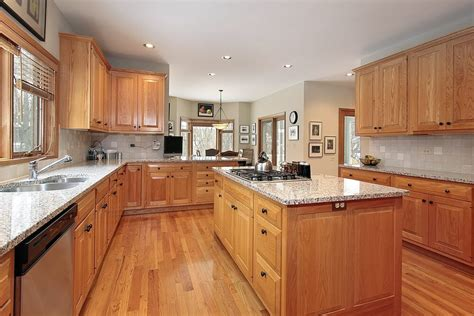 kitchen cabinets with light countertops 43 quot new and spacious quot light wood custom kitchen designs