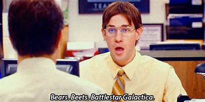 Office Quotes Iconic Bears Beets Battlestar Galactica