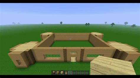 step by step how to build a house mansion tutorial minecraft 1 4 5