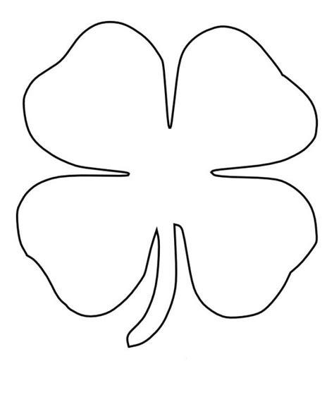 leaf clover printable clipart