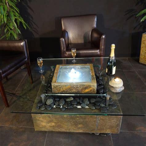 fontaine table basse quot carr 233 quot de cactose