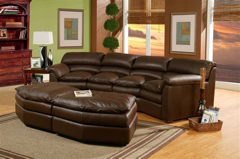 Diana Brown Leather Sectional Sofa Set by 30 The Best Diana Brown Leather Sectional Sofa Set