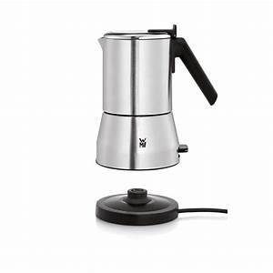 Espressokocher Edelstahl Elektrisch : wmf k chenminis espressokocher f r 2 oder 4 ~ Watch28wear.com Haus und Dekorationen