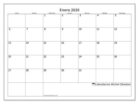 calendario enero  ld calendario  imprimir