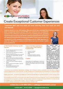 Exceptional Customer Experiences - Edge Communication