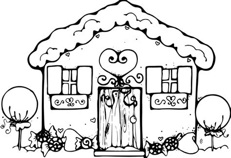 Coloring Home by Free Printable House Coloring Pages For