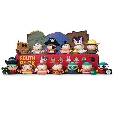 blind box toys south park many faces of cartman mini figure display box