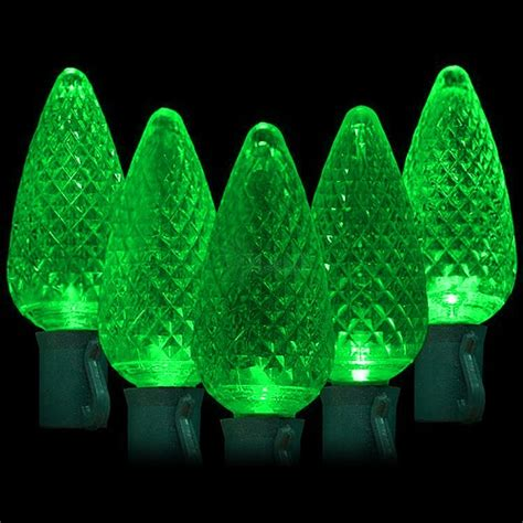 led green lights 50 c9 faceted led bulbs 8