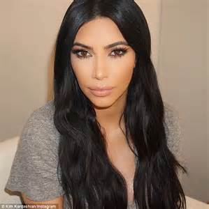 kim kardashian insists  doesnt  botox  fillers  pregnant daily mail