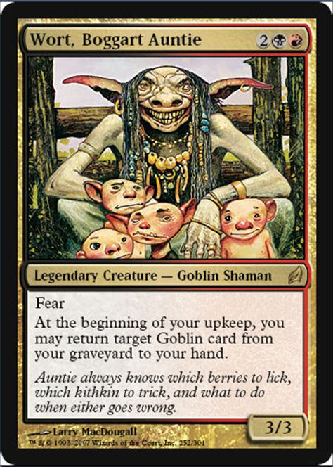 Goblin Commander Deck Wort by Starcitygames Official Lorwyn Previews Wort