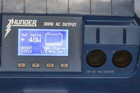 Thunder Battery Box Portable Powerpack Power Dual