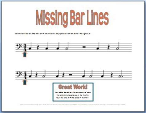 Measures and music bar lines make sheet music easier to write and read. Music Theory Worksheets, Ultimate Stash, 50+ free ...