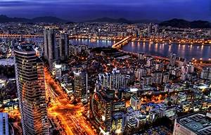 Seoul night skyline, South Korea – Travel Around The World ...